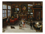 Sciences and the Arts Giclee Print by Adriaen van Stalbemt