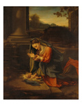 Our Lady Worshipping the Child Prints by Antonio Allegri Da Correggio