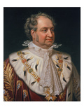 Max I. Joseph of Bavaria. Copy after Joseph Karl Stieler, 1846 Giclee Print by Antoine Dury