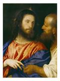Der Zinsgroschen Prints by  Titian (Tiziano Vecelli)