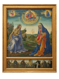 The Intercession of Christ and Mary Print by Filippino Lippi