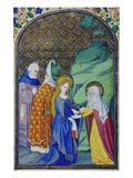 The Visitation. From: Heures De Louis De Savoie Posters
