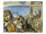 The Recovery of Bahia in 1625, Brazil, about 1634-35 Giclee Print by Fray Juan Bautista Maino