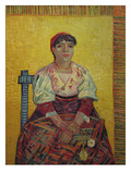 Italian Woman (Agostina Segatori).1887 Prints by Vincent van Gogh