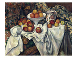 Still Life with Apples and Oranges, about 1895/1900 Giclee Print by Paul Cézanne