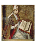 Saint Augustine. Thomas-Altar in the Cloister St.Thomas In Giclee Print by Pedro Berruguete