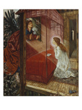 The Annunciation ('the Flower of God'), 1863 Prints by Edward Burne-Jones