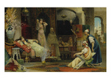 In the Harem Giclee Print by Juan Gimenez y Martin