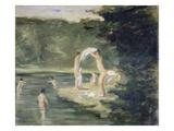 Bathing Boys, 1895 Posters by Max Liebermann
