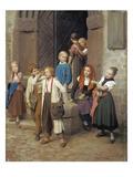 Wer Den Schaden Hat, Braucht Fuer Den Spott Nicht Zu Sorgen, 1861 Giclee Print by Friedrich Edouard Meyerheim