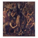 Apollo Bestraft Marsyas Giclee Print by  Titian (Tiziano Vecelli)