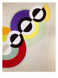 Prismen, 1934 Giclée-tryk af Robert Delaunay