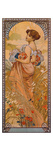 The Seasons: Summer, 1900 Poster by Alphons Mucha
