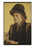 Bildnis Des Herzogs Sigismund Von Oesterreich (Graf Von Tirol) Giclee Print by  Master of the Mornau Portrait