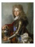Bildnis des Philipp Von Frankreich (Seit 1700 Als Philipp V. Koenig Von Spanien) Giclée-Druck von Joseph Vivien