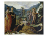 Apollo, Pallas and the Muses Posters by Bartholomaeus Spranger