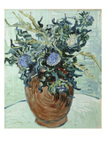 Still Life with Thistles, 1890 Reproduction procédé giclée par Vincent van Gogh