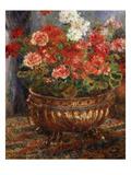 Flowers in a Brazen Vessel, 1880 Posters by Auguste Renoir