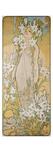 Alphonse Mucha - The Lily, 1898 Digitálně vytištěná reprodukce