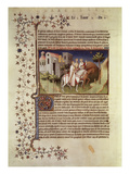 Zug Der Heiligen Drei Koenige. Aus Buch Der Wunder Ms.Fr.2810 Giclee Print