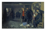 The Arrest of the Propagandist, 1880-1992 Giclee Print by Ilya Efimovich Repin