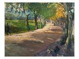 Road in Godramstein, 1909 Prints by Max Slevogt