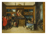 A Collection of Paintings Giclee Print by Frans Francken the Younger