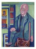 Dr. Carl Hagemann, 1928 Art by Ernst Ludwig Kirchner