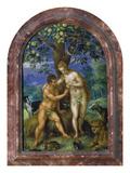 Adam Und Eva Giclee Print by Hendrick de Clerck