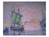 Venice, the Pink Cloud, 1909 Affischer av Paul Signac