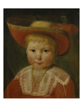 Portrait of a Boy with a Strawhat Giclee Print by Pieter Claesz Soutman