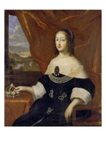 Princess Christine of Savoy, 1633 Poster by  Italian