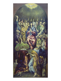 Descent of the Holy Ghost (Pentecoste), about 1605/10 Poster by  El Greco