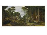Pilgrimage Giclee Print by Ferdinand Olivier