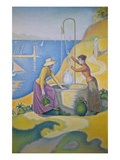 Junge Provencalinnen Am Brunnen, 1892 Prints by Paul Signac