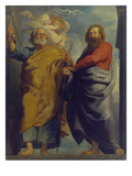 The Apostles St. Peter and St. Paul Giclee Print by Peter Paul Rubens