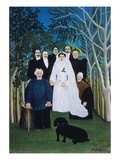 A Rural Wedding, 1905 Giclee Print by Henri Rousseau