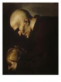 Der Hl. Petrus Von Alcantara in Meditation Prints by Jusepe de Ribera
