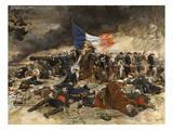 Le Siege De Paris, 1870 Giclee Print by Ernest Meissonier