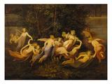 Fairy Dance, 1844 () Giclée-Druck von Moritz Von Schwind