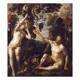 The Fall of Man Giclee Print by Jacob Jordaens