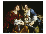 Judith with the Head of Holofernes Giclee Print by Artemisia Gentileschi