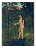 Eve, 1904-05 Print by Henri Rousseau