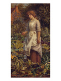 The Fair Gardener Prints by Arthur Hughes