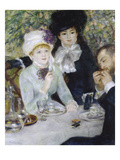 After the Luncheon (La Fin Du Déjeuner), 1879 Giclee Print by Auguste Renoir