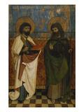 Hofer Altar. Aussenseite. die Hll.Bartholomaeus Und James Giclee Print by Hans Pleydenwurff