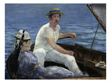 Boating, 1874 Art by Edouard Manet