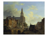 Imaginary View of Antwerp Giclee Print by Cornelius Springer