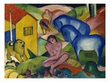 The Dream, 1912 Wydruk giclee autor Franz Marc