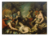 Alexander the Great before the Corpse of Darius Iii Prints by Francesco Guardi